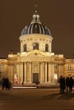 Institut de France  coupole  Academie Francaise  College des Quatre-Nations in Paris