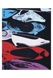 Diamond Dust Shoes (Parallel), 1980-81 Reproduction d'art par Andy Warhol