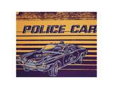 Police Car, 1983 Reproduction d'art par Andy Warhol