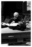Andy at Typewriter  The Factory  NYC  circa 1965