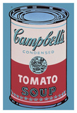 Colored Campbell's Soup Can  1965 (pink & red)