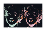 Marilyn, c. 1979-86 Reproduction d'art par Andy Warhol
