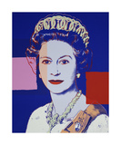 Reigning Queens: Queen Elizabeth II of the United Kingdom  1985 (blue)