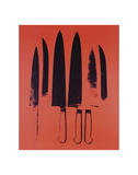 Knives  c 1981-82 (Red)