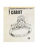 Carat, 1961 Reproduction d'art par Andy Warhol