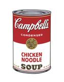 Campbell's Soup I: Chicken Noodle, 1968 Reproduction d'art par Andy Warhol