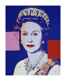 Reigning Queens: Queen Elizabeth II of the United Kingdom  1985 (blue)