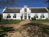 Facade of a Building  Boschendal  Cape Winelands District Municipality  Western Cape Province