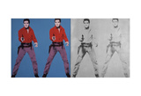 Elvis I and II, 1963-1964 Reproduction d'art par Andy Warhol