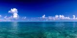 Clouds over Pacific Ocean  Bora Bora  Leeward Islands  Society Islands  French Polynesia