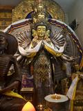 View of Avalokiteshvara (Bodhisattva of Compassion) Patron Deity of Tibet
