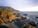 Waves Breaking on Garrapata Beach on the Big Sur Coast of California