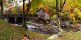 Glade Creek Grist Mill  Babcock State Park  Fayette County  West Virginia  Usa