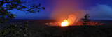 Halemaumau Crater Erupting  Hawai'I Volcanoes National Park  Kilauea Volcano  Big Island