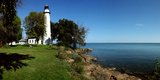Pointe Aux Barques Lighthouse  Lake Huron  Port Hope  Huron County  Michigan  Usa