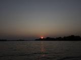 View of a River at Dusk  Zambezi River  Livingstone  Zambia