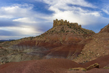 Clouds over the Circle Cliffs Near Long Canyon  Grand Staircase-Escalante National Monument