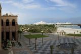 View of Garden and Beach at Emirates Palace Hotel  Abu Dhabi  United Arab Emirates