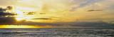Sunset over the Sea  Windansea Beach  La Jolla  San Diego County  California  Usa