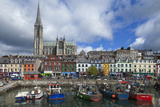 St Coleman's Cathedral from the Harbour  Cobh County Cork  Ireland