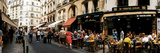 Sidewalk Cafes Along a Street  Saint-Germain-Des-Pres  Paris  Ile-De-France  France