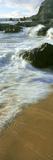 Wave and Sand Patterns on Beach  Cerritos Beach  Baja California Sur  Mexico