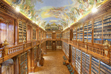 Czech Republic Prague  Strahov Monastery Library - the Philosophical Hall