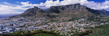 Aerial View of a City from Signal Hill  Cape Town  Western Cape Province  South Africa