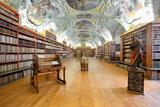 Czech Republic Prague  Strahov Monastery Library - the Theological Hall