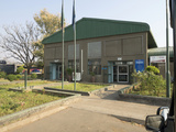 Border Crossing Building in Zambia at Victoria Falls to Get Exit Stamp to Then Enter Zimbabwe