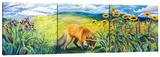 Foxy (Triptych)