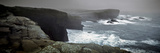 Storms Raging over Yesnaby Coastline  Orkney Islands  Scotland