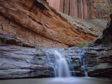 Waterfall in Coyote Gulch in the Escalante Grand Staircase National Monument  Utah