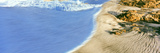 Wave Detail and Sand Patterns  Cerritos Beach  Baja California Sur  Mexico