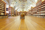 Czech Republic Prague  Strahov Monastery Library - the Theological Hall