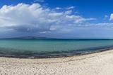 View of Tecolote Beach in La Paz  Baja California Sur  Mexico