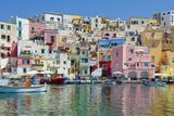 Marina Corricella  Procida Island  Bay of Naples  Campania  Italy