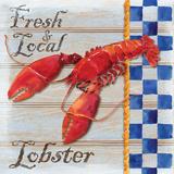 Chesapeake Lobster Reproduction d'art par Paul Brent
