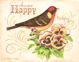 Bird Happy