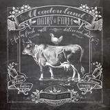 Chalkboard Cow