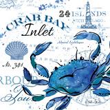 Crab Bay Inlet Reproduction d'art par Julie Paton