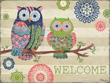 Groovy Owls I