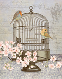 Birds & Blossoms I