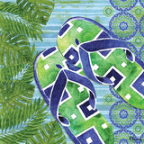 Blue Sarasota Sandals III