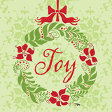 Green Joy Wreath