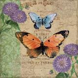 Burlap Butterflies II