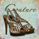 Blue Couture Shoes