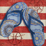 Nautical Flip Flops II