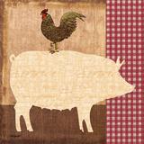 Petit cochon Reproduction d'art par Todd Williams