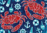 Pattern Crabs